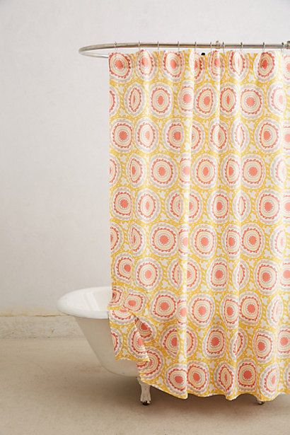 Leena Shower Curtain Anthropologie For The Home Pinterest