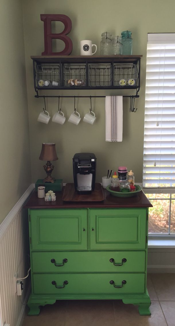 1000 ideas about home coffee bars on pinterest coffee for Home bar station