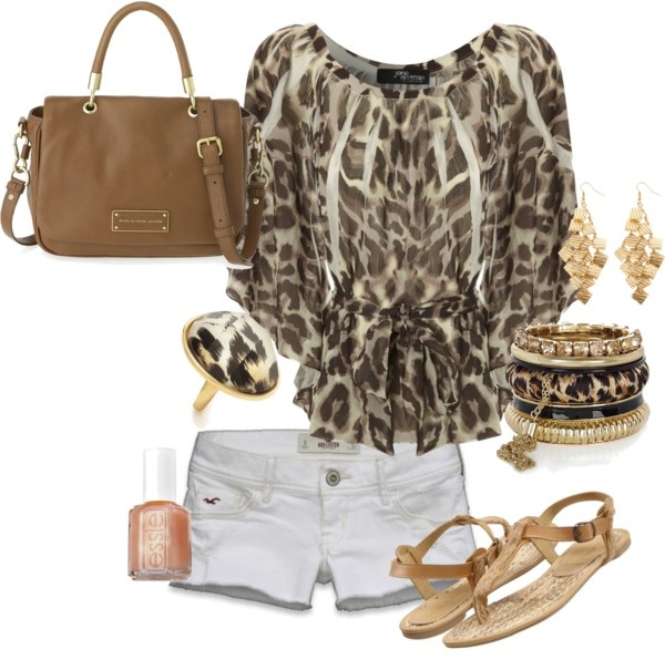 Leopard Cutie, created by kaymeans06 on Polyvore