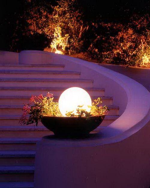 Outdoor Lighting Ideas Solar: Luxury Outdoor Solar Lighting Ideas