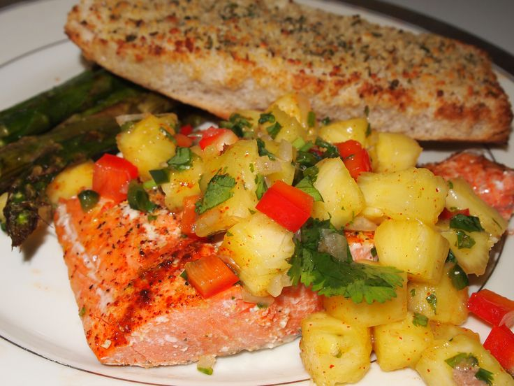 Grilled Salmon with Fruit Salsa | What's for dinner tonight? | Pinter ...