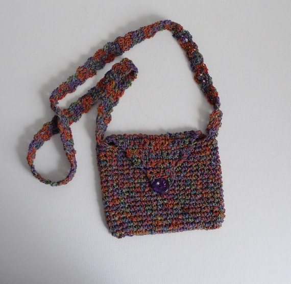 Crochet Small Purse : Vegas Purse crocheted small