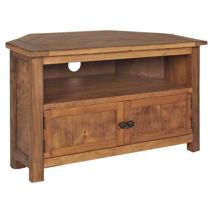 Denver Solid Wood Corner Tv Stand Corner Tv Stands