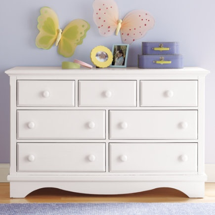 White chest of drawers kids room decorating ideas Dressers for kids