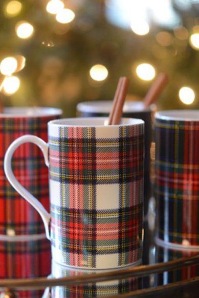Hot Chocolate!   Ralph Lauren mugs