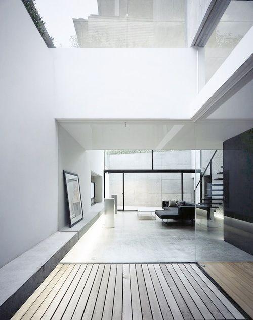 Vastness (minimalism minimalist modern white interior clean lines big windows design simple mod)