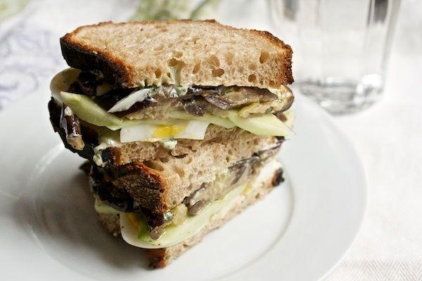 Sabich Sandwich | Sandwiches | Pinterest