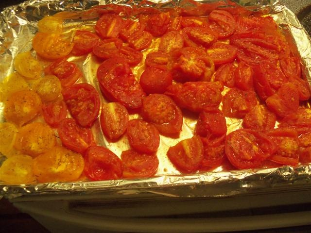 ROASTED TOMATOES TO FREEZE | Chow | Pinterest