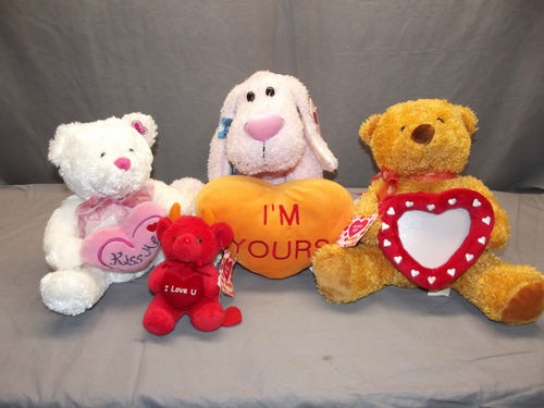 valentines day stuffed animals target