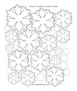 Мастер класс цветы из креповой бумаги своими
