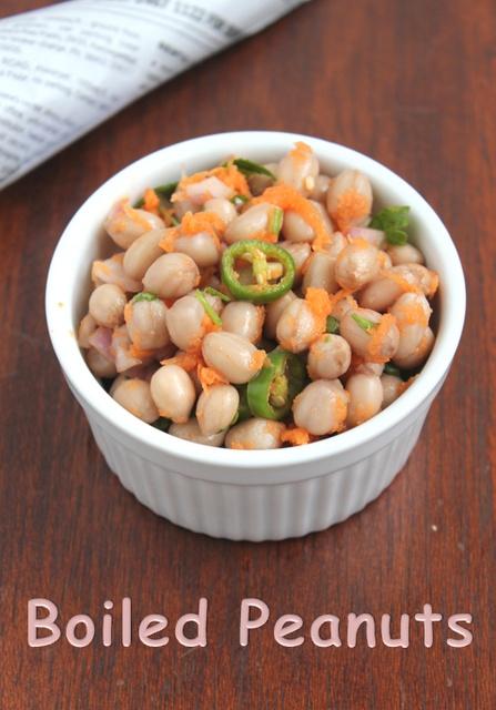 Boiled Peanuts(Beach style) | Snacks | Pinterest