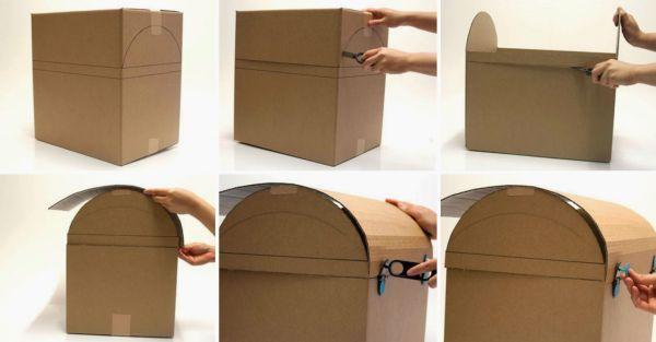 Коробка для денег на свадьбу своими руками: фото