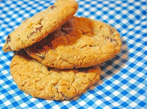 Chocolate Cherry Oatmeal Cookies | Blog Post | Pinterest