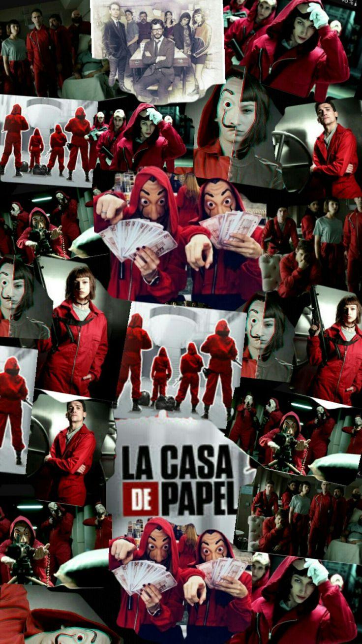 Wallpaper La Casa De Papel Pinterest Netflix Tvs