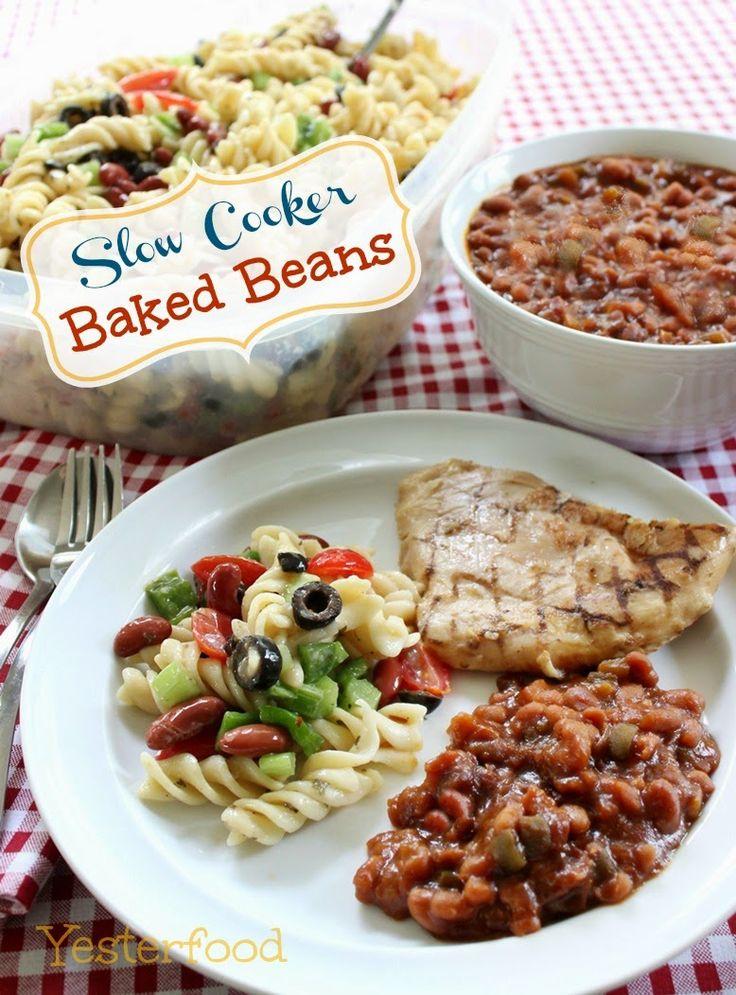 Yesterfood : Slow Cooker Baked Beans | Grub | Pinterest