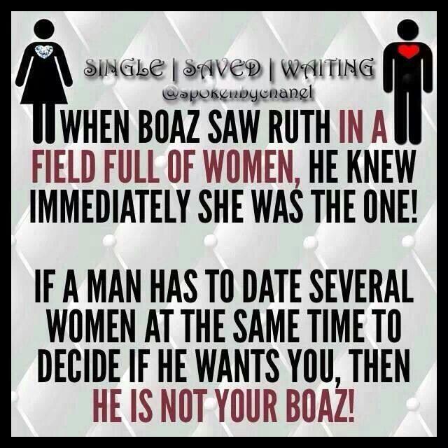 wait for your boaz