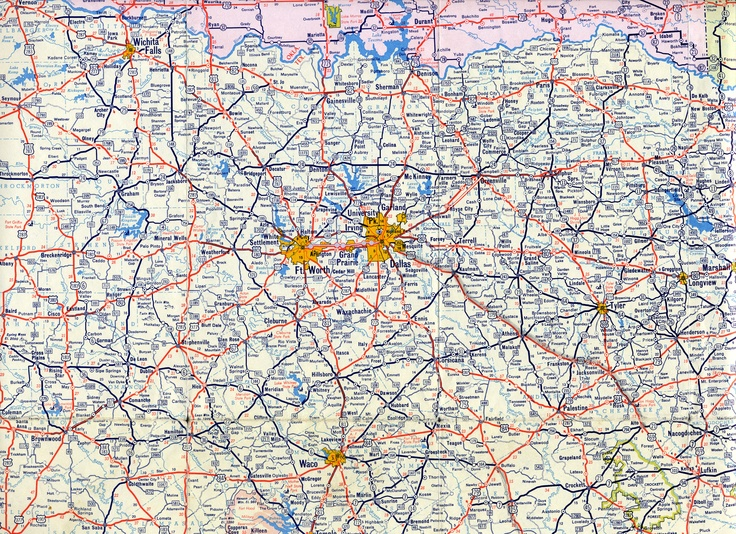 Dallas - Fort Worth Map | Been there and loved it
