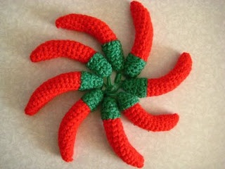 CROCHET PATTERN Chili Pepper Cocoon and by BusyMomDesigns
