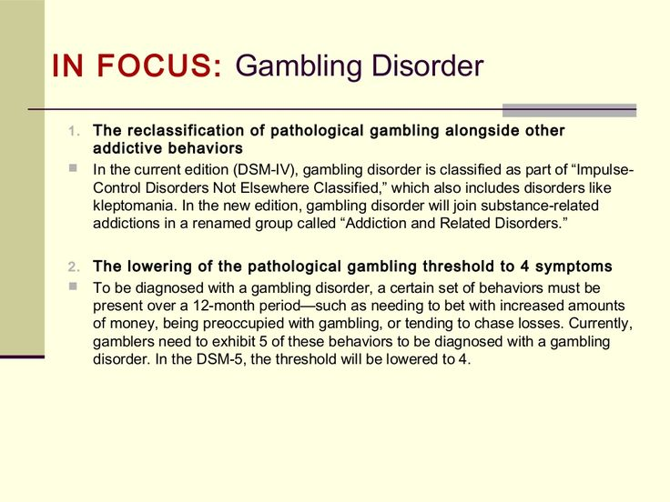 Pathological gambling dsm iv definition what are odds on slot machines