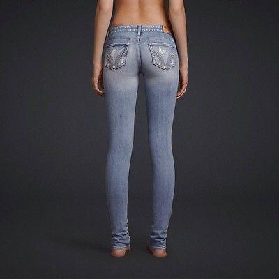 Super Skinny Light Wash Jeans Via@Hollisterco