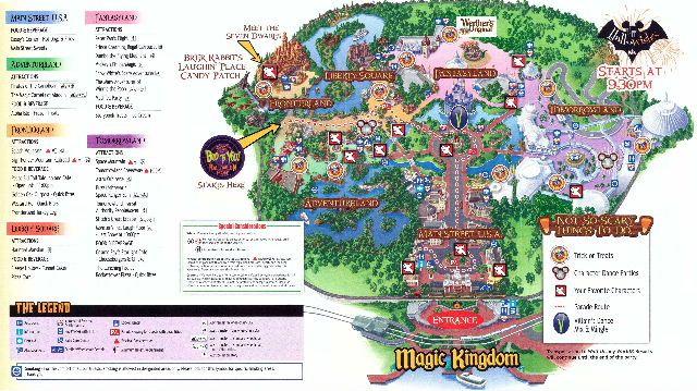 free printable maps | Disney World | Pinterest