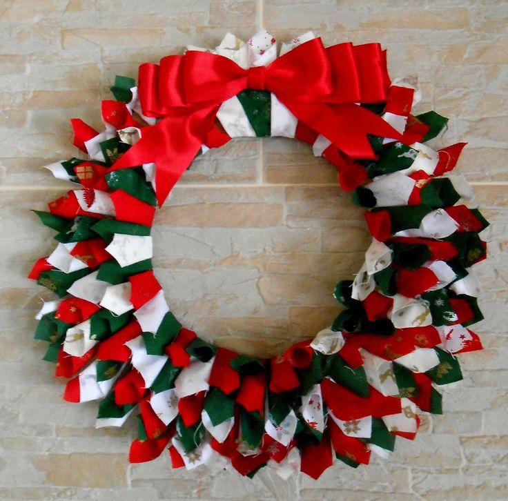 Christmas wreath handmade christmas decorations pinterest for Pinterest christmas decorations
