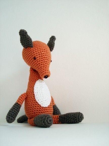 Crochet Fox : Fox Crochet Pattern CROCHET! CROCHET! CROCHET! Pinterest