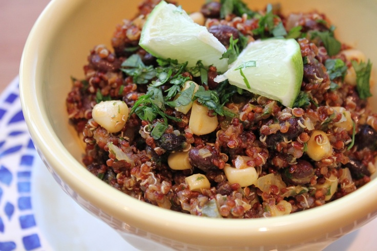 Southwestern Quinoa Salad Recipe (Channeling Contessa)