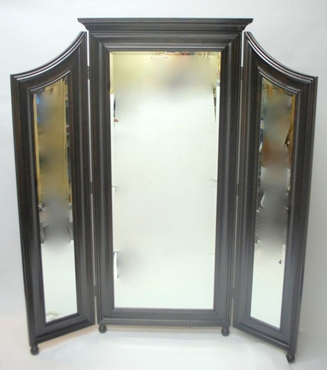 Trifold Standing Floor Mirror Home Design And Decorating