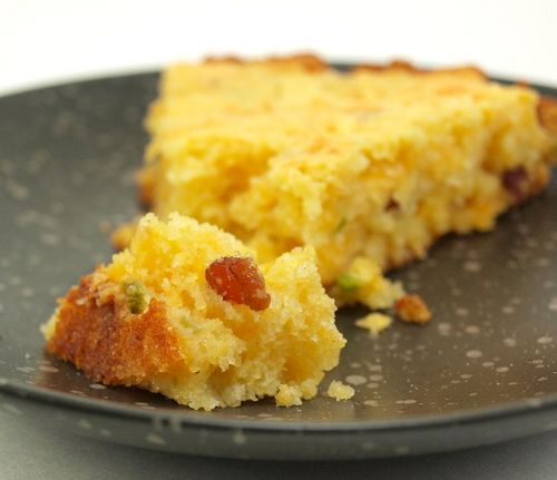 Jalapeno, Bacon and Cheddar Cornbread