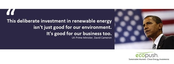 US President Barack Obama on clean energy