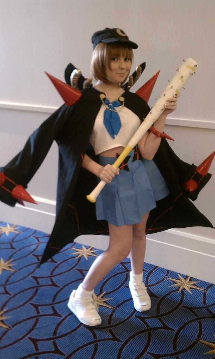 Mako Mankanshoku  2-Star Fight Club President Goku Uniform  Cosplayer    Mako Mankanshoku Fight Club Cosplay