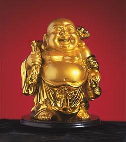 Amuletos da sorte    Buda