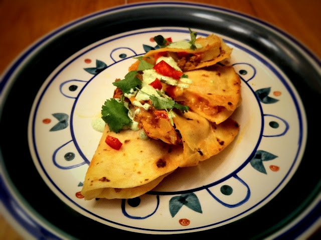 Emeril's Chorizo and Potato Quesadillas. (1) From: Bite And Booze ...