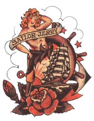 sailor jerry love  sailors