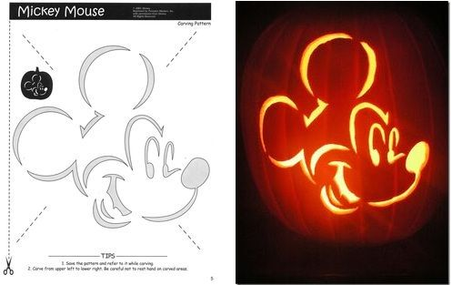 Mickey mouse stencil craft ideas pinterest for How to paint a mickey mouse pumpkin