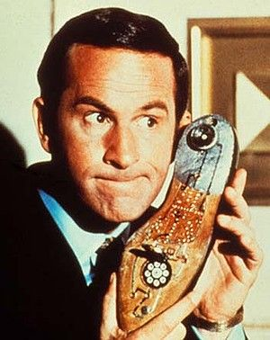 Yes, chief: Don Adams as Maxwell Smart in Get Smart