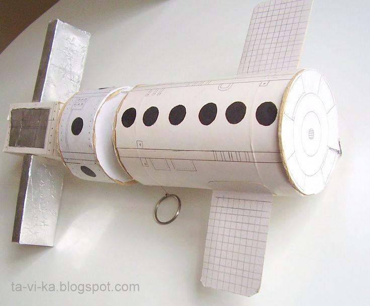 Как сделать космическую станцию своими руками 42
