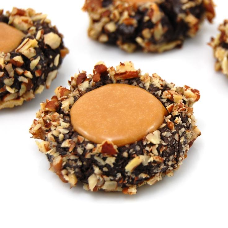 Chocolate Turtle Cookies | Recipe
