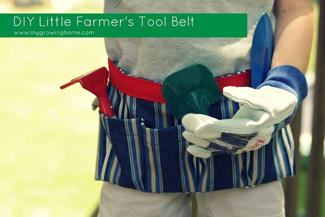 DIY kids tool belt
