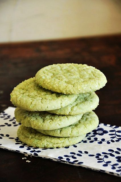 Lime Sugar Cookies by holajalapeno, via Flickr