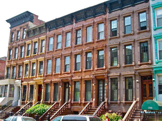 New York Row Houses : Brownstones new york row houses pinterest