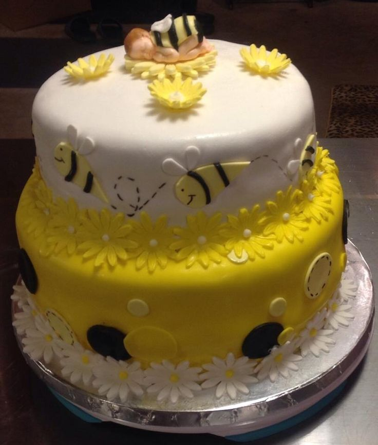 bumble bee baby shower cake custom cakes by jules