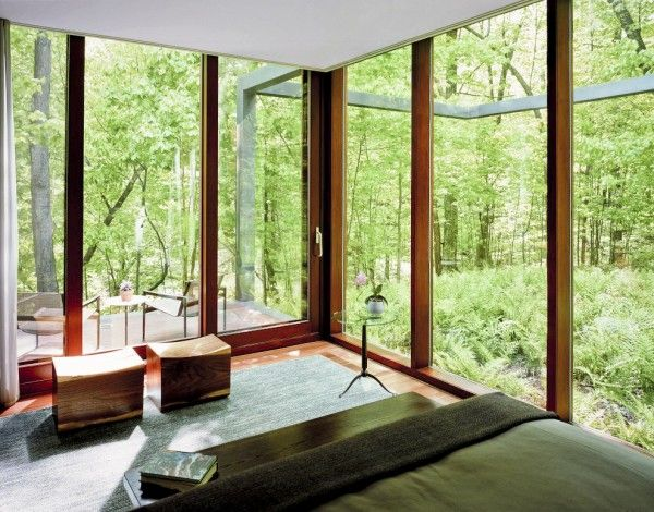 Photo Courtesy: Allied Works Architecture  Dutchess County Residence Guest House Dutchess County, United States Designed by Allied Works Architecture