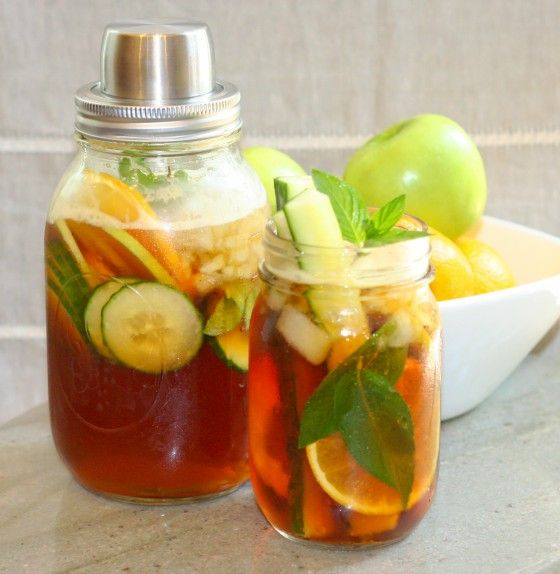 Pimm's Cup Cocktail - perfect for summer!