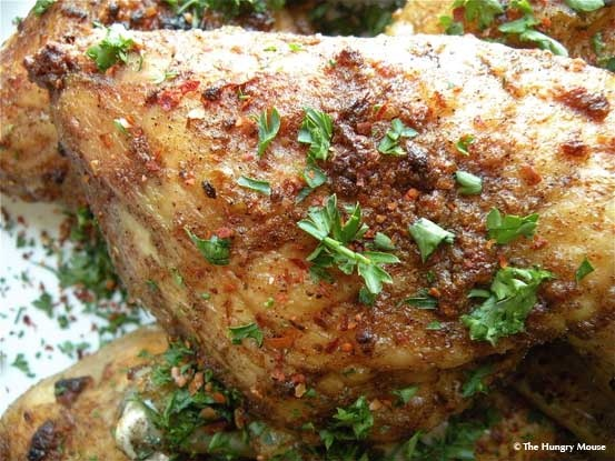 five spice roasted chicken!