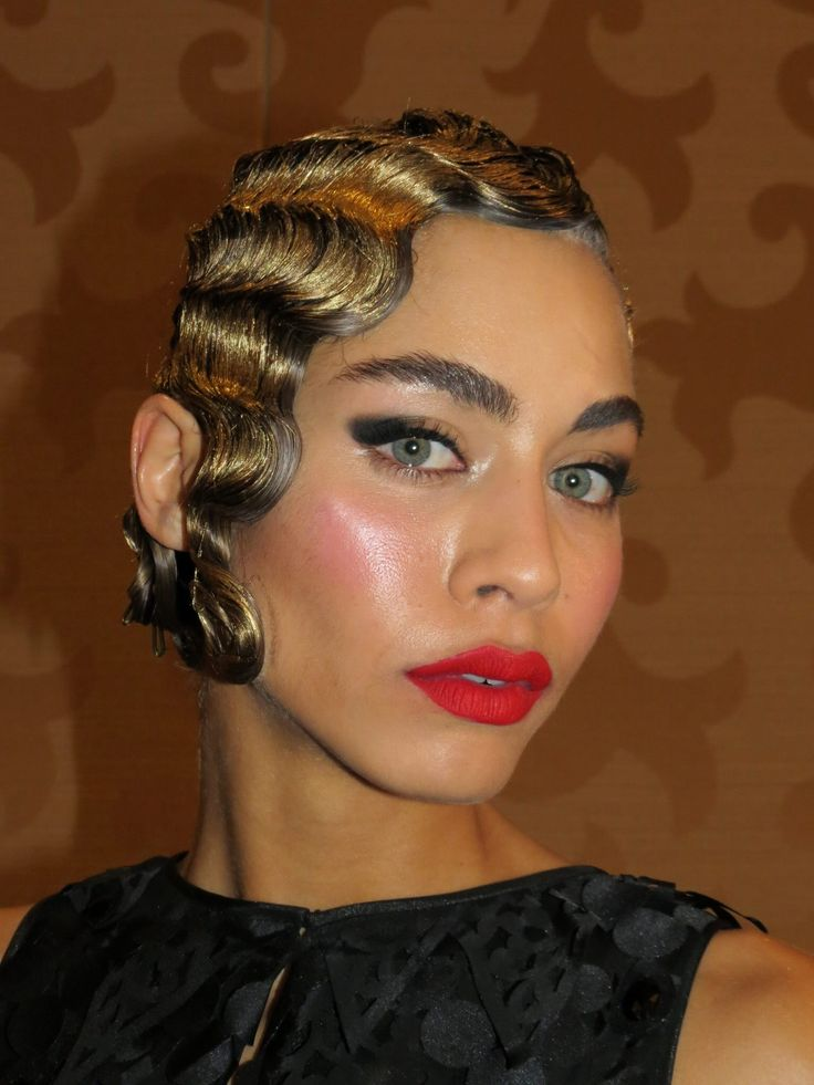 Finger wave Hair styles Pinterest - Finger Wave Hairstyle
