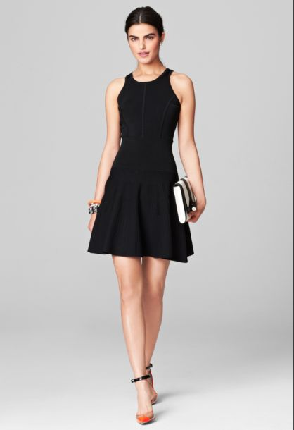 Deliliah Closed Back Flare Dress Price: $395.00