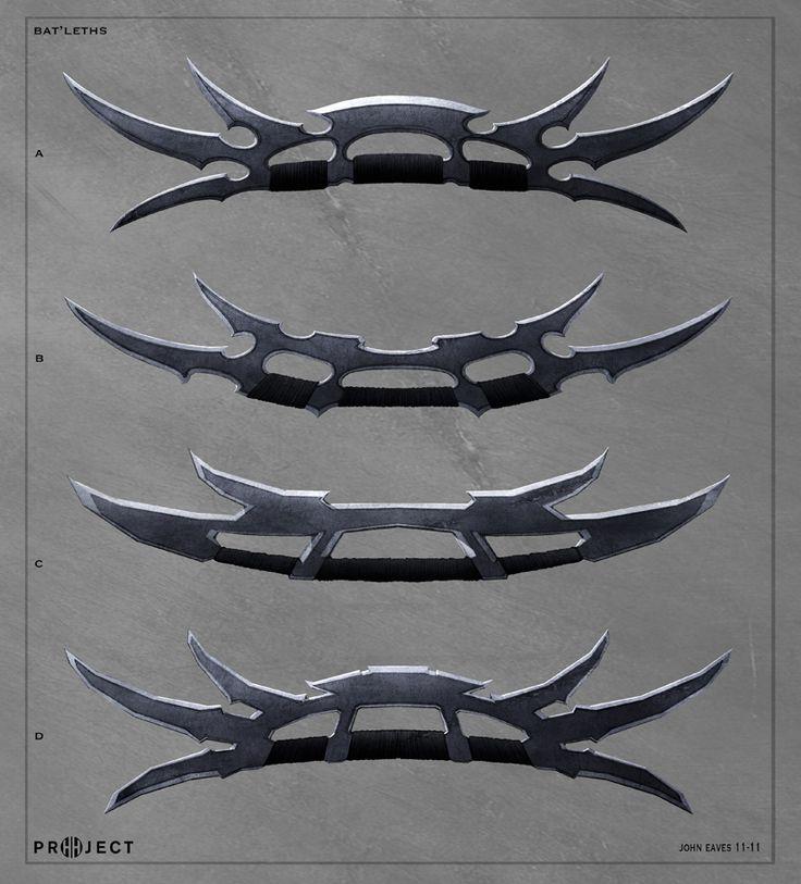 Klingon Ship Into Darkness Bat'leth 1 | Klingons ...