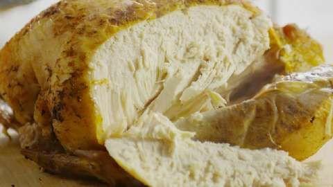 Roast Sticky Chicken Rotisserie Style Allrecipes.com